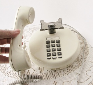 Rotary and Push Button Dial Telephones